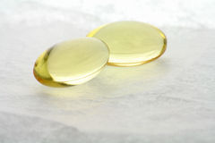 Gel pills Royalty Free Stock Photo