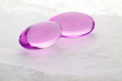 Gel pills Royalty Free Stock Photography