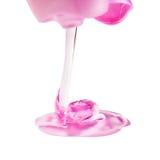 Gel rosado Imagenes de archivo