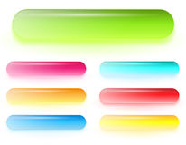 Gel web buttons Stock Image