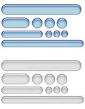 Gel web buttons vector illustration