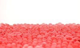 gel wiele marmurów czerwonego biel Obraz Royalty Free