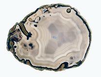 Gelaagd agaat royalty-vrije stock afbeelding