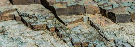 Gelaagd argillite Brede textuur als achtergrond stock afbeelding