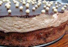 Gelaagd biscuitgebak stock afbeelding