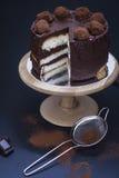 Gelaagde cake Stock Fotografie