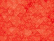 Gelaagde hartachtergrond Royalty-vrije Stock Afbeeldingen