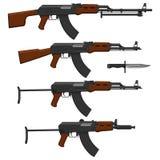 De geweren van de aanval Royalty-vrije Stock Foto