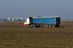 Geladen vrachtwagen Royalty-vrije Stock Fotografie