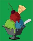Gelado colorido ilustração royalty free