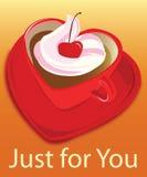 Gelado de Caffee Fotografia de Stock