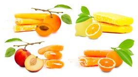 Gelado do fruto imagens de stock royalty free