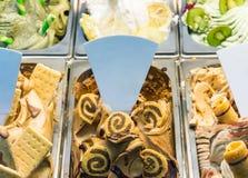 Gelado fresco do gelato imagem de stock royalty free