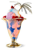 Gelado - gelo azul Imagem de Stock