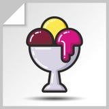 Gelado icons_9 Imagens de Stock Royalty Free