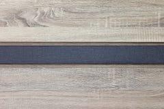 Gelamineerde houten textuur met natuurlijk houten patroon Royalty-vrije Stock Afbeelding