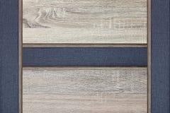 Gelamineerde houten textuur met natuurlijke houten achtergrond Stock Afbeelding