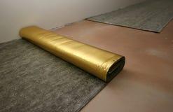 Gelamineerde vloer Royalty-vrije Stock Afbeeldingen