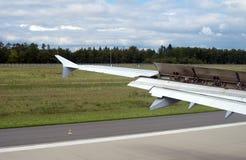Gelanceerde vleugelmechanisatie Stock Fotografie