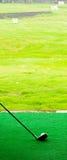 Gelassen gehen Sie, Golf anzutreiben stockfotografie