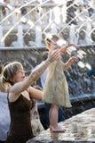 Gelassen seien Sie Wasser! Stockfotos