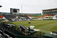 Gelassene Ansicht von Sitzen von Estadio Leon, Leon, Guanajuato lizenzfreie stockbilder