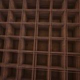 Gelast draadnetwerk van hierboven Stock Afbeeldingen