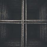 Gelast draadnetwerk van hierboven in zwart-wit Royalty-vrije Stock Afbeelding