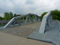 Gelaste brug in Maurzyce royalty-vrije stock foto's