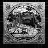 Gelataio del carretto di spinta di arte del sottopassaggio di Los Angeles Fotografie Stock