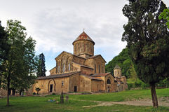 Gelati是英王乔治一世至三世时期中世纪修道院复合体 库存图片