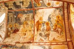 Gelati kloster av oskulden Arkivbilder