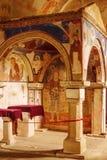 Gelati kloster av oskulden Arkivfoto