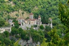 Gelati kloster Georgia royaltyfria bilder