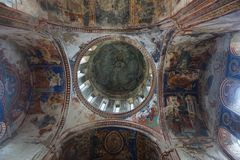Gelati kloster Lord Jesus Christ royaltyfria foton