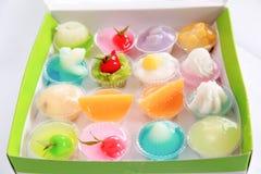 gelatin stockbilder