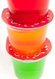 Gelatin Cups Royalty Free Stock Image