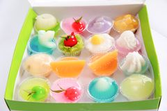 gelatin obrazy stock