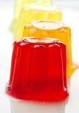 Gelatin kolory Zdjęcie Stock