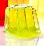 Gelatin kolory Zdjęcia Stock