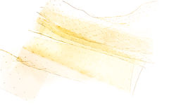 Gelatin leaves. Stock Photos
