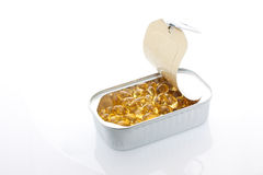 Gelatin pills Stock Images