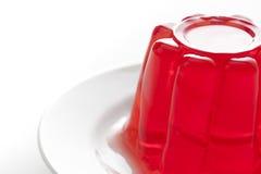 Gelatin vermelho foto de stock royalty free