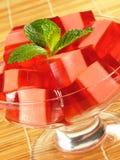 Gelatin vermelho & cor-de-rosa fotos de stock