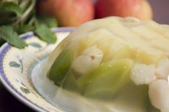 Gelatina al gusto di frutta Fotografie Stock