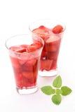 Gelatina al gusto di frutta - dessert Fotografia Stock Libera da Diritti