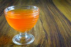 Gelatina arancione Immagine Stock Libera da Diritti