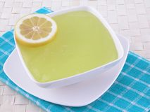 Gelatina del limone Fotografie Stock
