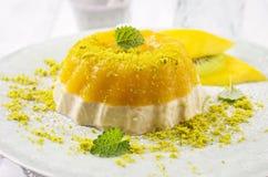 Gelatina del mango foto de archivo