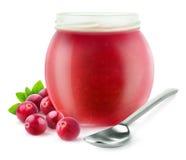 gelatina del mirtillo rosso Fotografie Stock Libere da Diritti
